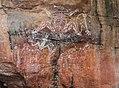 Aboriginal rock art at Nourlangie Rock. (8308704047).jpg