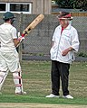 Abridge CC v High Beach CC at Abridge, Essex, England 10.jpg