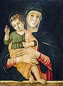 Accademia - Giovanni Bellini - Madonna with Child Blessing Cat.583.jpg