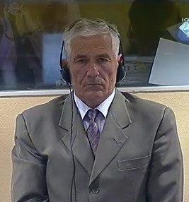 Accused Mile Mrkšić