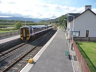 Kyle of Lochalsh line - Image: Achnasheen station