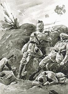 Action by Sepoy Khudadad Khan VC Ypres.jpg