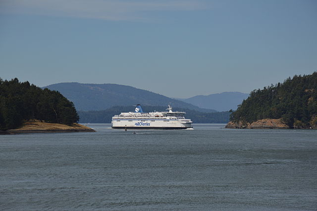 A BC Ferries vessel.