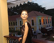 Actress Miao Pu of the Chineese film'Ying Tao (Cherries) at the media centre on November 30, 2007 at IFFI, Panaji, Goa.jpg