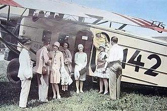 Ad Astra Aero - Dornier Merkur (CH 142) operated by Ad Astra Aero (1927)