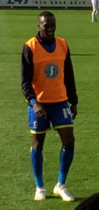 Ade Azeez - Azeez as a substitute for AFC Wimbledon in September 2015
