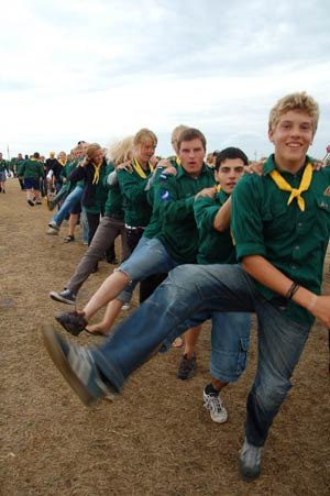 Pathfinders (Seventh-day Adventist) - The adventistspejderne in a camporee in 2006. The adventistspejderne are the Danish pathfinder.