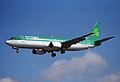 Aer Lingus Boeing 737-400; EI-BXD@LHR;04.04.1997 (4904361117).jpg