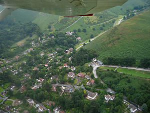 Shropshire Hills AONB - Church Stretton is the larger of the two towns in the AONB, the other being Clun.