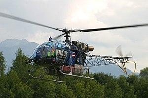 Aérospatiale SA 315B Lama - SA-315B Lama, 2003