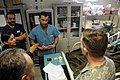 Afghan National Army doctors discuss patients (4382104237).jpg