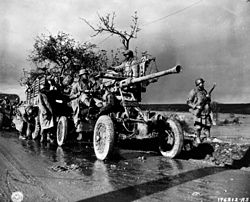 African American artillery squad in Belgium cph.3c33629