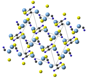 Silver thiocyanate - Image: Ag SCN bas