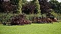 Agricultural machinery at Aythorpe Hall Farm, Aythorpe Roding, Essex, England - darker rendering.jpg