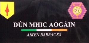 Aiken Barracks - Aiken Barracks Signage