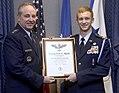 Air Force Chief of Staff Gen. Mark A. Welsh III presents Civil Air Patrol Cadet Matthew C. Jackson (NJ) the Gen. Spaatz Award.jpg