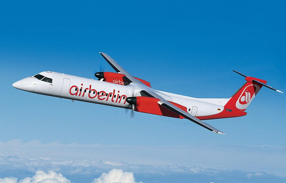 Airberlin Q400 (cropped)