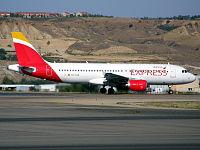 EC-LUS - A320 - Iberia Express