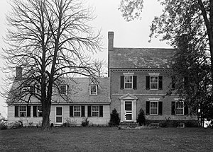 National Register of Historic Places listings in Kent County, Maryland - Image: Airy Hill HABS MD1