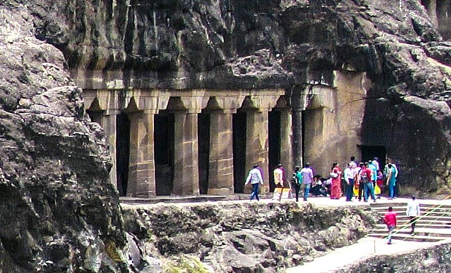 Ajanta Cave 4 Exterior