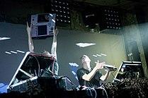 Akai MPC4000, Norbergfestival 2009.jpg