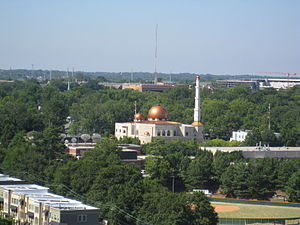 Demographics of Georgia (U.S. state) - The Al-Farooq Masjid Mosque of Atlanta