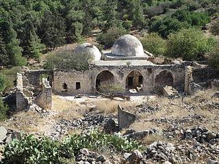Al-Nabi Yusha Village in Safad, Mandatory Palestine