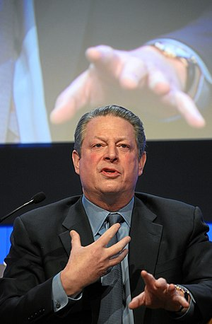 DAVOS/SWITZERLAND, 24JAN08 - Al Gore, Vice-Pre...