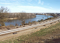 The Alabama River at Montgomery in 2004