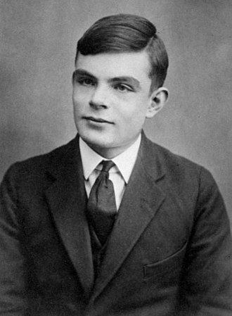 Wilmslow - Alan Turing, aged 16