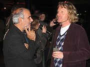 Alan Yentob and Grayson Perry at private view of Gilbert & George retrospective, Tate Modern