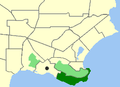 Albany-Port Albany map.png
