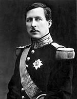Albert Ier, roi des Belges en 1914.