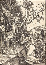 Albrecht Dürer, Joachim and the Angel, c. 1504, NGA 6692.jpg