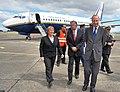Alcalde Saavedra dio bienvenida a la presidenta Bachelet en su visita a la Región (4016724261).jpg