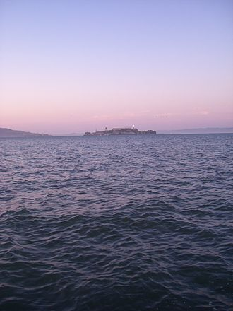 Marina Green - View of Alcatraz Island from Marina Green