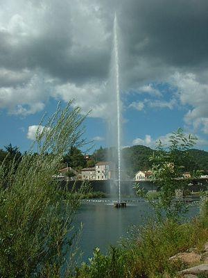 Alès - Fountain