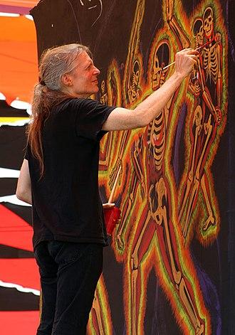 Alex Grey - Alex Grey painting.