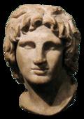Buste d'Alexandre - IIe–Iersièclesav. J.-C., British Museum.