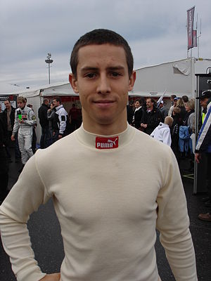 Alexander Sims (racing driver) - Sims in 2009.