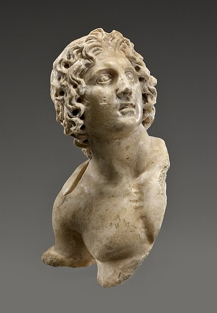 Alexander the Great, 100 B.C.E. – 100 C.E., 54.162, Brooklyn Museum - Ancient Egypt