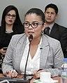 Alexandra Arce en la Comisión de Justicia, 7 de marzo de 2017.jpg