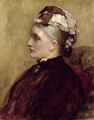 Alexandra Orr - in 1892 by Frederic Leighton