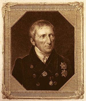Alexey Olenin - Alexey Olenin in 1836,  by Nikolai Utkin.