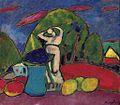 Alexej von Jawlensky - Stilleben mit Figur, Früchten und Landschaft.jpg