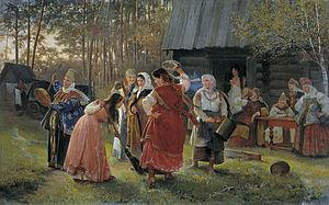 Русские свадебные обряды Википедия Баня править править код