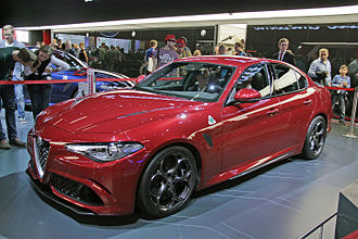 Executive car - The Alfa Romeo Giulia