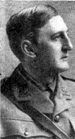 A.E.W. Mason as a captain in The Manchester Regiment.