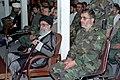 Ali Khamenei visits The Great Zulfaqar military maneuver 1997.jpg
