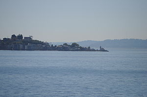Denny Party - Alki Point, where the Denny Party made their initial land claims